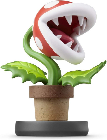 Amiibo Piranha Plant Ultimate Smash Bros Super Mario Switch