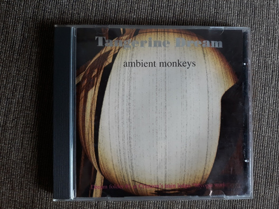 Cd Tangerine Dream Ambient Monkey (versão C/ 1 Bonus)