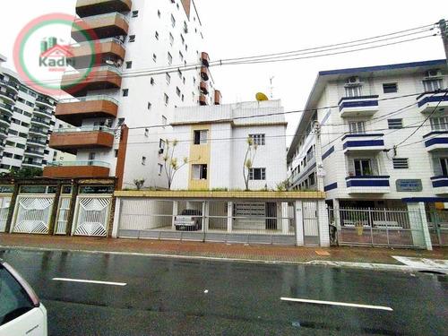 Kitnet Com 1 Dormitório À Venda, 28 M² Por R$ 120.000,00 - Vila Guilhermina - Praia Grande/sp - Kn0495