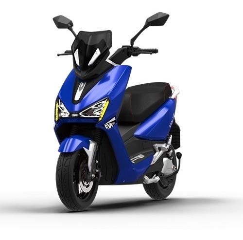Imagem 1 de 10 de Scooter Moto Elétrica Voltz Ev1 Sport Azul - 2 Baterias