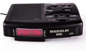 Rádio Relógio Motobras Rm-rrd22 - Bivolt