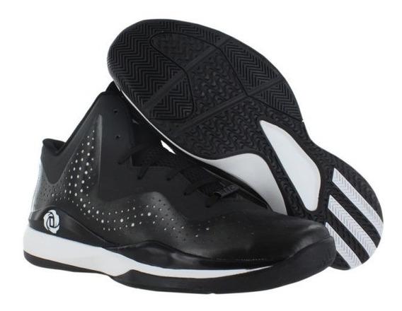 Tenis adidas C75721 D Rose 773 Iii Black White Basketball