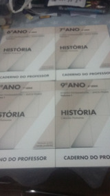 4 Apostilas- Caderno Do Professor Volume 1 - História