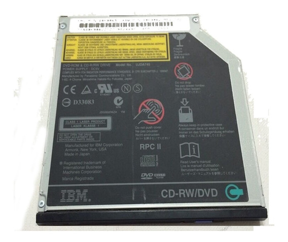 Leitor Cd-rw Dvd Lenovo Thinkpad T43 2669 Ujda745
