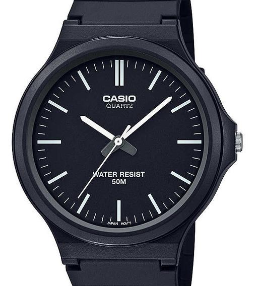 Relógio Casio Masculino Classico Preto Mw-240-1evdf