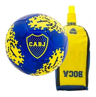 Kit Boca Junior: Botinero Deportivo Dribbling + Pelota N° 5