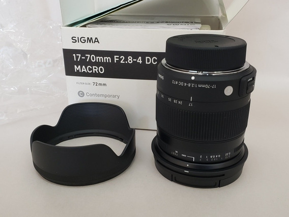 Lente Sigma 17-70mm F2.8-4 Dc Macro Os Hsm Para Nikon