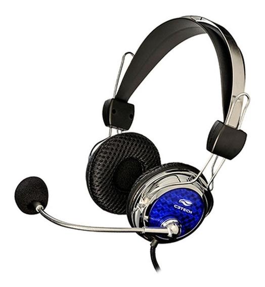 Fone De Ouvido C3 Tech Com Microfone Pterodax Mi-2322rc