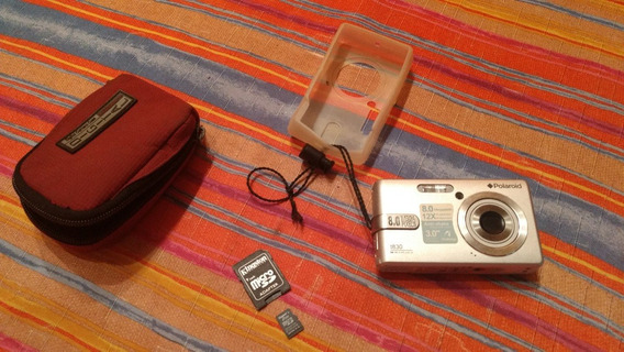 Cámara De Fotos Digital Polaroid T830 Con Accesorios
