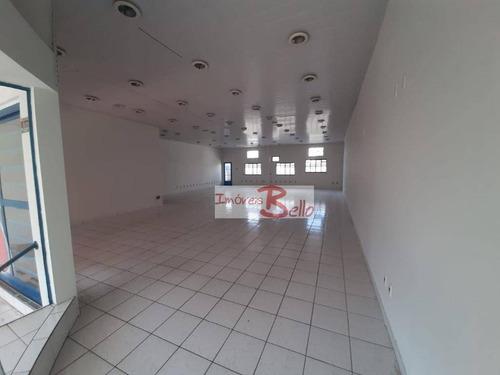 Imagem 1 de 15 de Salão Para Alugar, 353 M² Por R$ 3.700/mês - Centro - Itatiba/sp - Sl0033