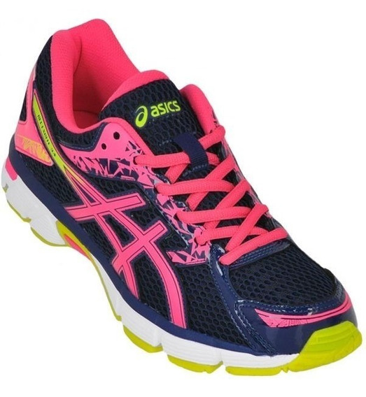 Tênis Asics Gel Excite 3a Hot Pink/ Flash Yellow