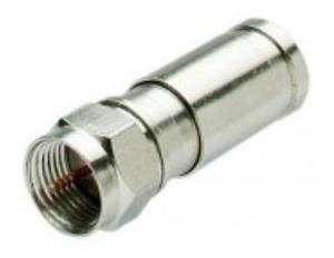 Conector Rg6 25 Unidades