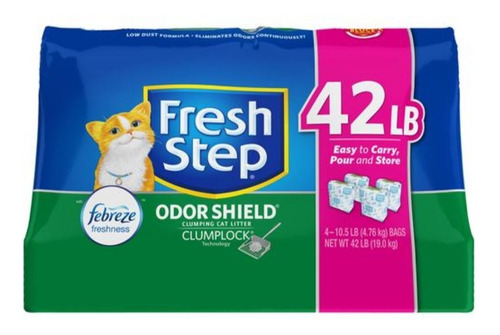 Fresh Step Arena Para Gatos 4 Unidades - 10.5 Lb/4.76 Kg