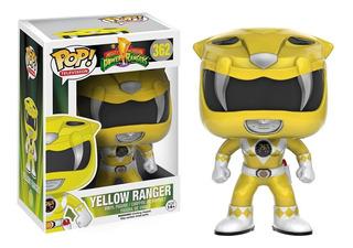 Funko Pop Tv Power Rangers - Yellow Ranger Xion