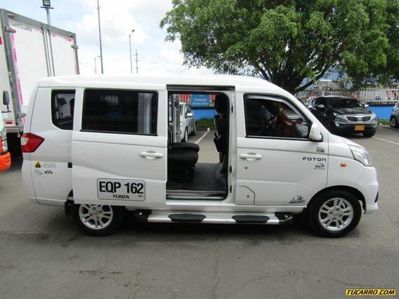Foton Mini Van Full Equipo