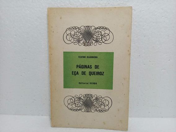 Livro Páginas De Eça De Queiroz Ester De Lemos