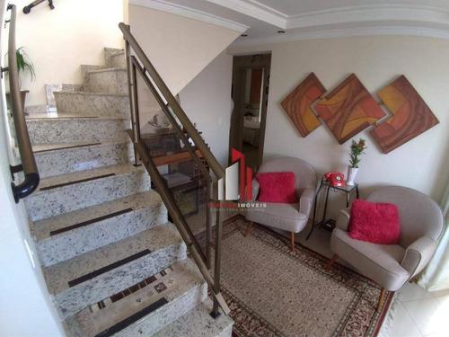 Apartamento Duplex Com 3 Dormitórios À Venda, 150 M² Por R$ 1.018.000,60 - Freguesia Do Ó - São Paulo/sp - Ad0004