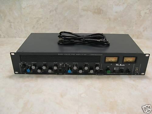 Tl Audio C1 Stereo Valve Preamp & Compressor