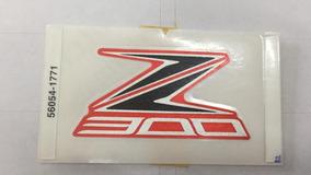 Adesivos + Tampa Corrente Original Kawasaki Z 300 Laranja