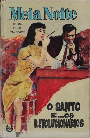 1962 Revista Meia Noite Nº 170 Editora Rge