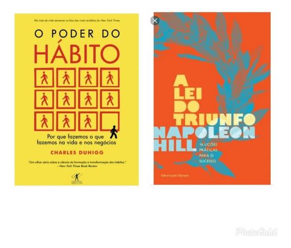 Kit De Livros O Poder Do Hábito+ A Lei Do Triunfo
