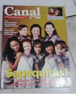 Revista Chiquititas Ano 98 Fernanda Souza , Gisele Frade .