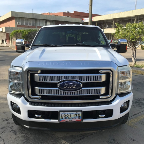 Ford Super Duty 2012 Platinum