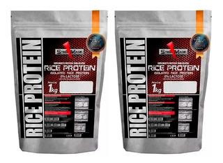 Rice Protein Proteína Isolada Do Arroz - 2 Kg - Steel Made