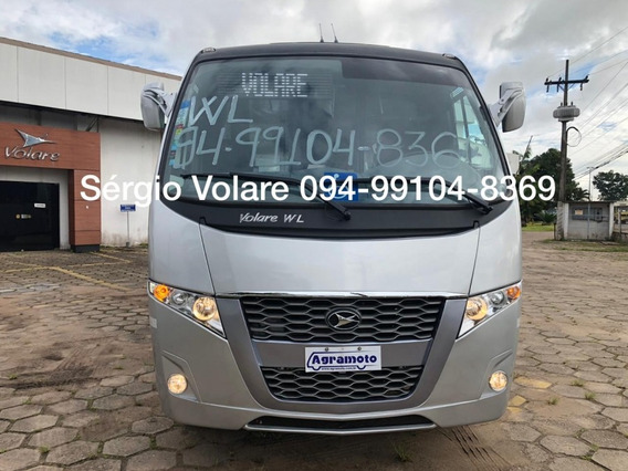 Micro Ônibus Volare Wl-c Fly Executivo Dta Prata 18/19