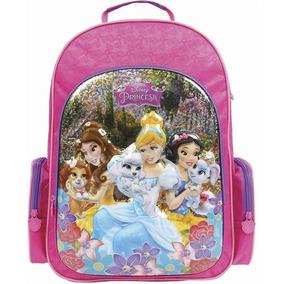 Mochila Princesas 3d 30384 Original Grande