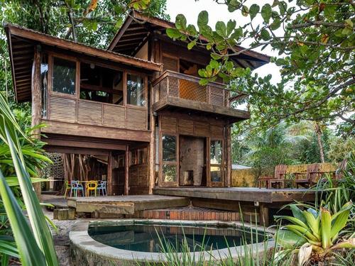 Imagem 1 de 26 de Casa A Venda Em Frente A Praia De Toque Toque Grande - Ca00089 - 68024279