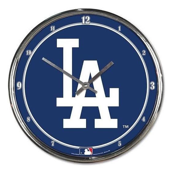 Reloj De Pared La Dodgers Original Mlb