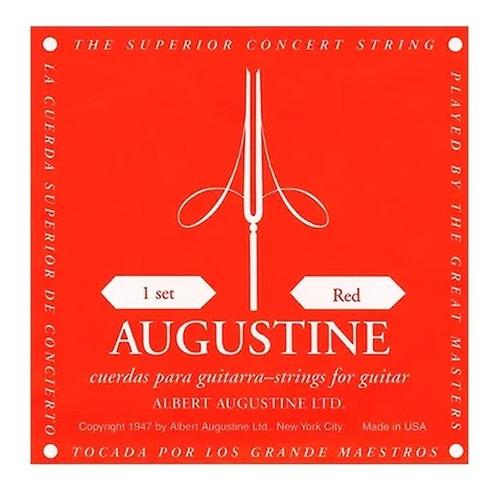 Encordado Augustine Roja Tension Media Guitarra Criolla