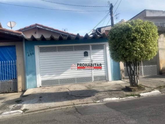 Casa Com 4 Dormitórios À Venda, 176 M² Por R$ 595.000,00 - Cidade Dutra - São Paulo/sp - Ca1502