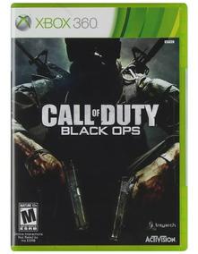 Jogo Call Of Duty Black Ops Xbox 360 Original Seminovo