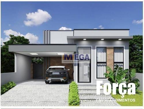 Casa Com 3 Dormitórios À Venda, 145 M² Por R$ 709.000,00 - Parque Gabriel - Hortolândia/sp - Ca2362