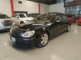 Mercedes-benz Clase S 5.0l 500 Mt 2004