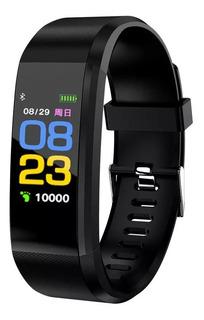 Smartband Reloj Pulsera Id115 Plus Sensor De Ritmo Cardíaco