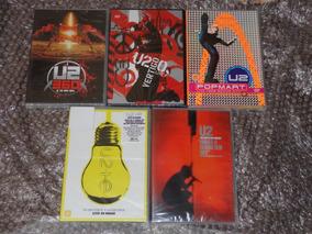Dvd U2 Vertigo 360 Chicago Pop Mart Mexico Paris Red Rocks