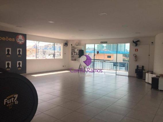Salão Ótima Localização Para Alugar - Centro - Suzano/sp - Sl0056