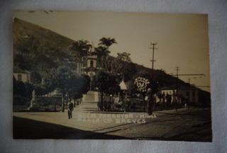 Cartão Postal Além Paraiba Pça De Breves Mg 1935