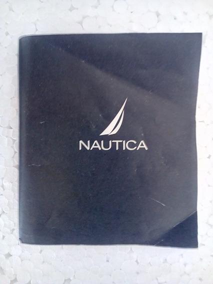 Manual Relógio Nautica Original E Lista De Distribuidores Mundial - Novo - Ótimo Preço