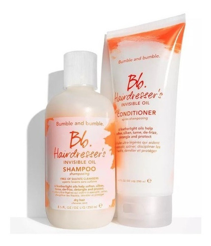 Bumble And Bumble - Hairdresser's Invisible Oil - Kit Duo