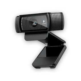 Webcam 15.0mp Logitech Hd Pro 1080p Com Microfone