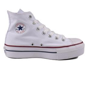 Tênis Converse All-star Plataforma Hi Branco Ct04940003