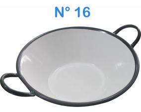 Tacho Esmaltado N°16 Para Frituras 7 Litros Batatas Pastel