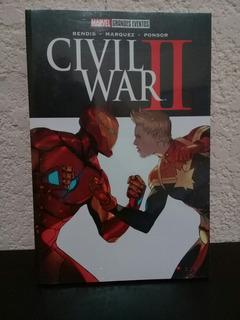 Marvel Grandes Eventos Civil War Ii Nuevo Y Sellado. Oferta.