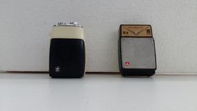 Rádio Transistorizado Lote C/2 Para Peças Ou Decoração Leiam