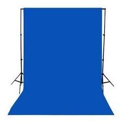 Fundo Infinito Fotográfico Tecido 3,00m X 3,00m Azul Hoyal