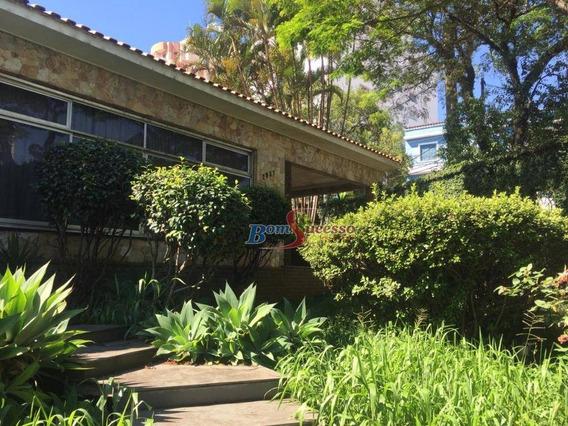 Casa Assobradada Residencial Ou Comercial Para Locação, Tatuapé, São Paulo. - Ca0462